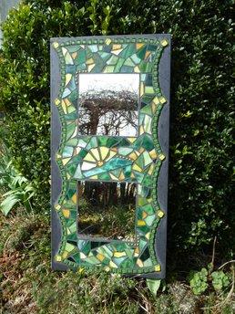 Gartendeko - Spiegel im garten ...